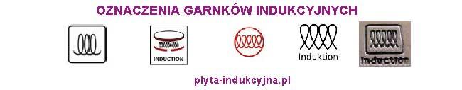 oznaczenia garnków indukcyjnych
