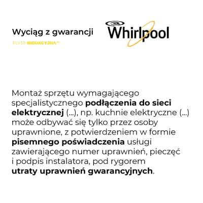 Podłączenie płyty indukcyjnej Whirlpool