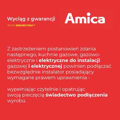 podłączenie płyty indukcyjnej Amica